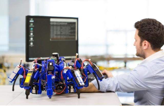 Siemens Roboter Spinne