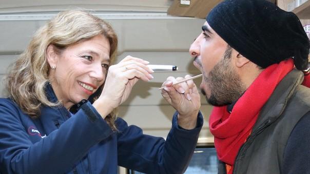 Mobile Arztpraxis für Flüchtlinge