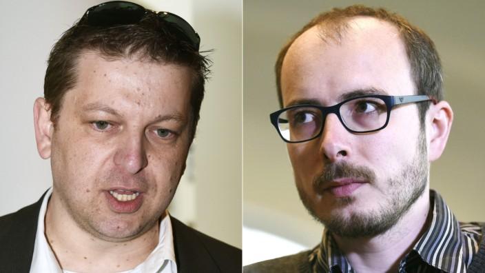 Raphaël Halet und Antoine Deltour: Die Whistleblower Raphaël Halet (links) und Antoine Deltour