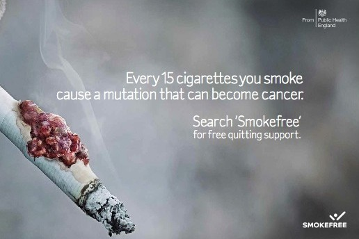 Anti-smoking-campaign UK
