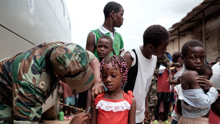 Yellow fever outbreak in Angola