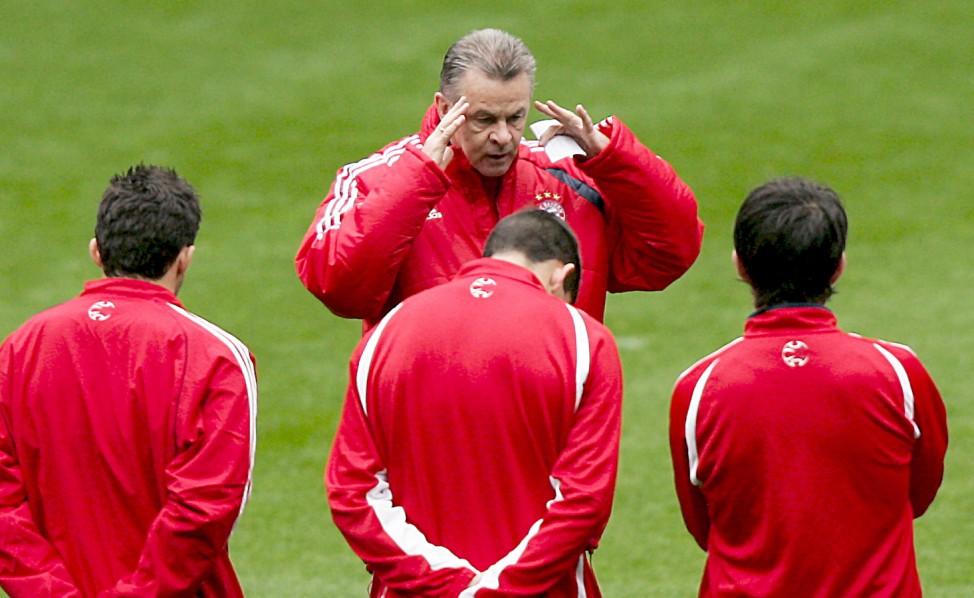 Training FC Bayern München in Madrid