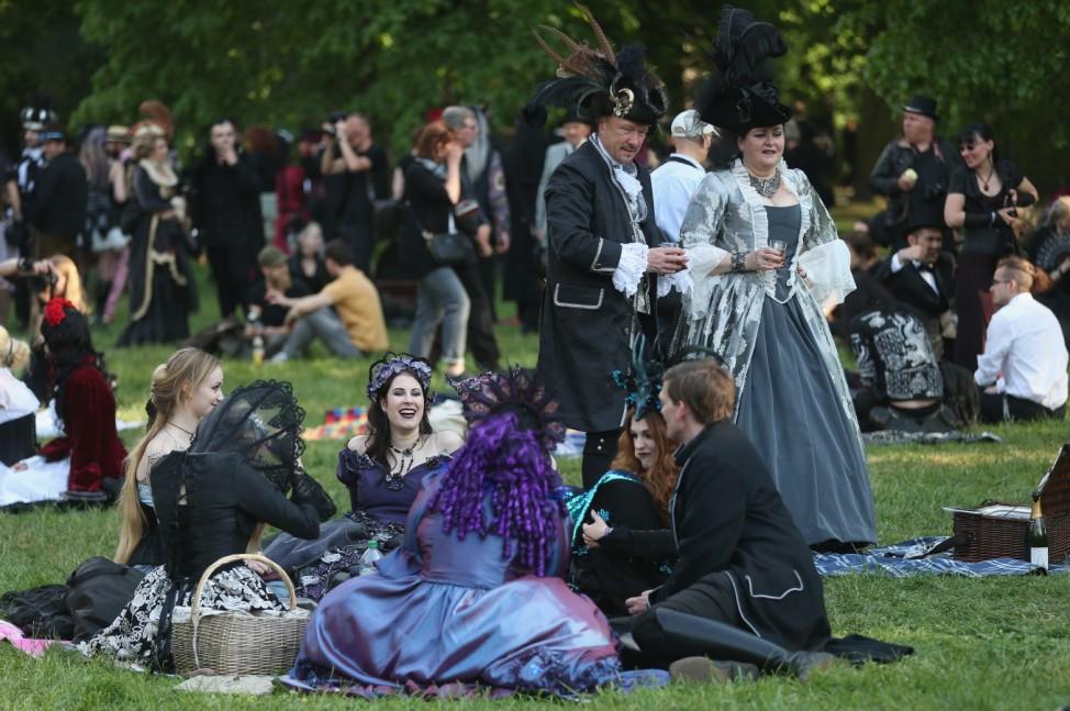 2016 Wave Gothic Gathering In Leipzig