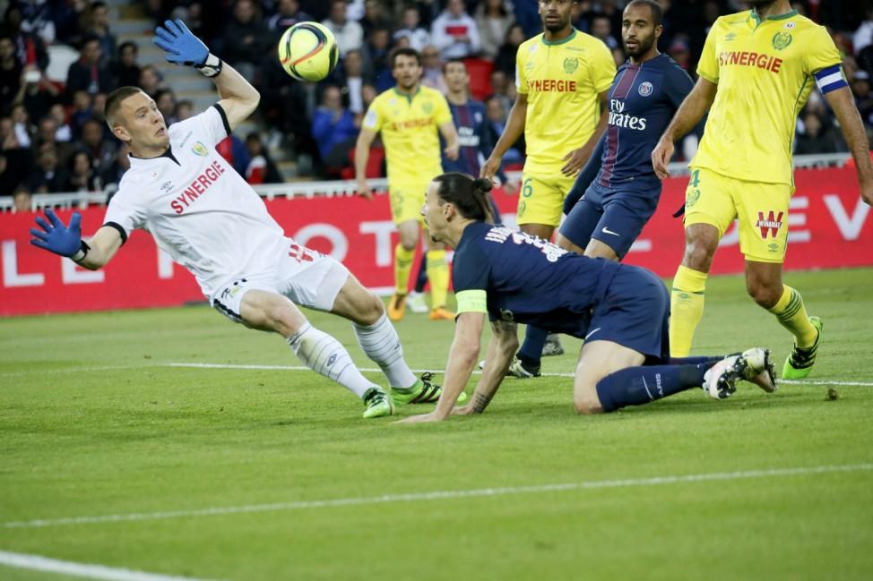 Paris St Germain v Nantes - French Ligue 1 - Parc des Princes stadium