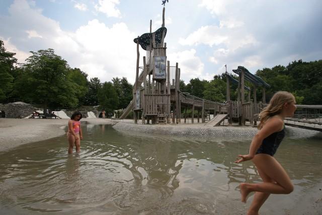 Kinderspielplatz im Westpark, 2006