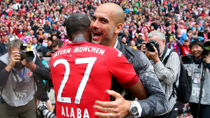 (FILE) Pep Guardiola To Take Over At Man City FC Bayern Muenchen v 1. FSV Mainz 05 - Bundesliga