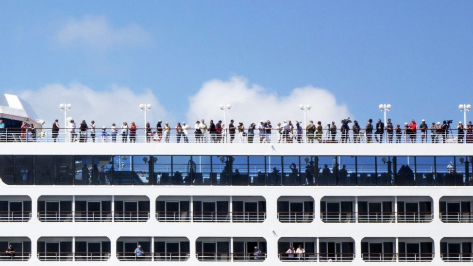 Cruise ship Adonia heads to Cuba from Miami's port