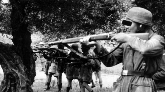 Zweiter Weltkrieg, Griechenlandfeldzug: Deutsche Fallschirmjäger auf Kreta, 1941