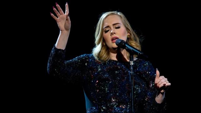 Adele Performs At Hallenstadion, Zurich