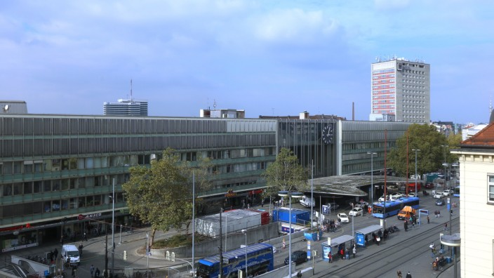 Bahnhofsvorplatz in München, 2015