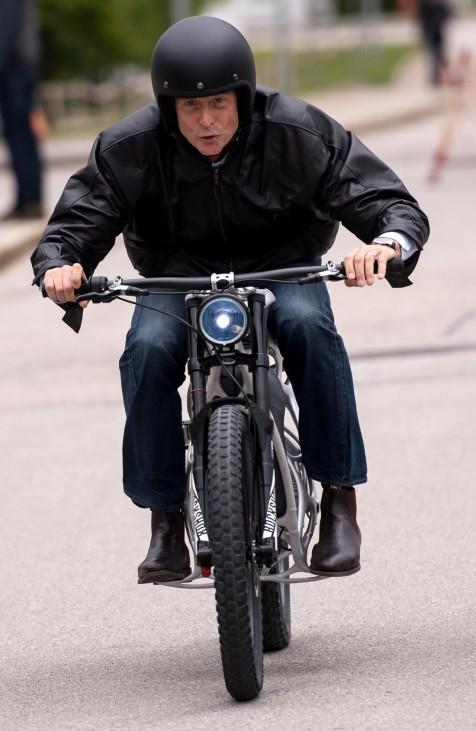 Tom Ender präsentiert 3D-Druck Motorrad 'Light Rider'