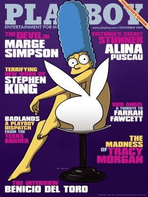Marge Simpson, Playboy, AP