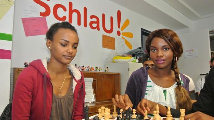 schlau- schachschule für flüchtlinge