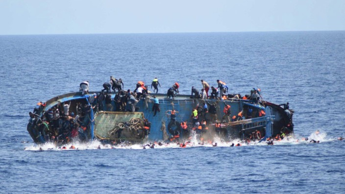 Migrants rescue off the Libyan coast
