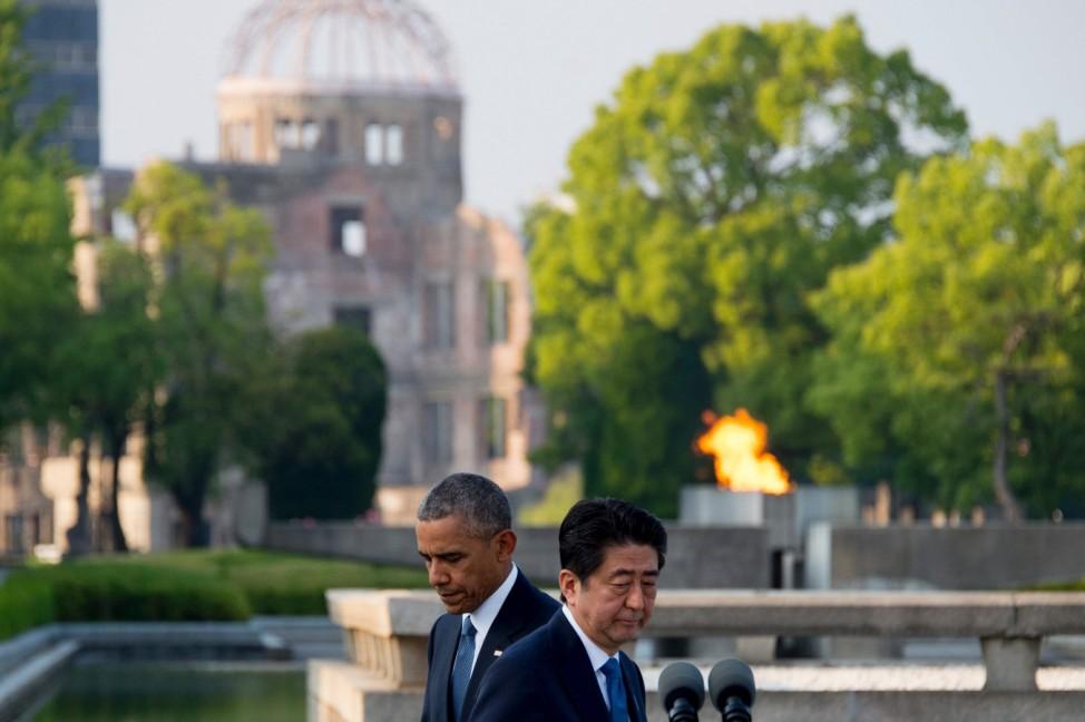 Obama, Abe in Hiroshima
