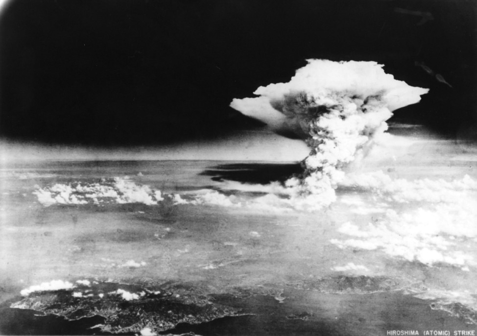 Hiroshima after the atomic bomb japan