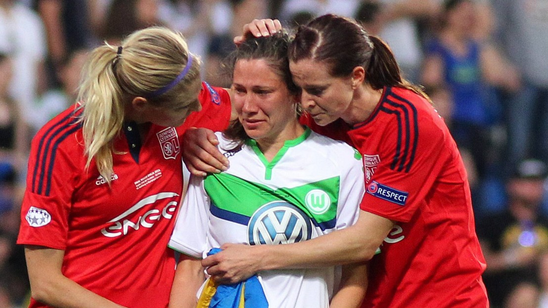Champions League der Frauen - Wolfsburg weint aus Frust ...