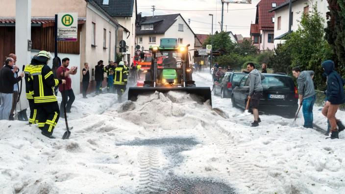 Unwetter Wiesbaden