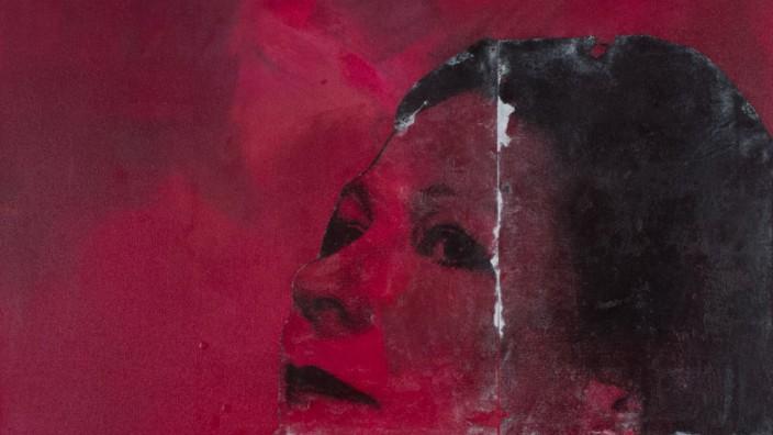 """Ausstellung """"Die Farbe ROT – Eine Hommage an das Leben"""" der Künstlerin Anja von Wins , Selbstpoträt"""