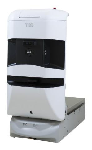 Tug Aethon hospital robot Roboter Krankenhaus