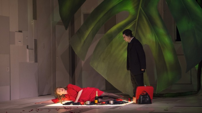 "Opernpremiere in Berlin: Magdalena Kožená und Rolando Villazón in ""Juliette""."