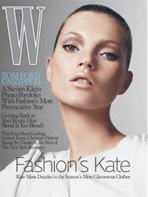 Kate Moss, Model, W