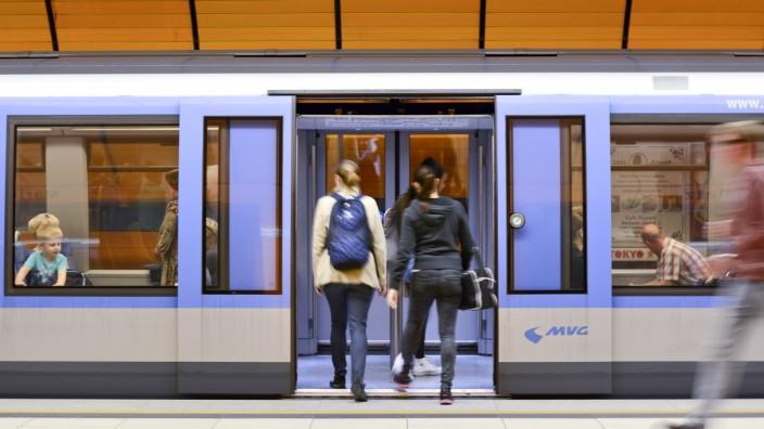 U-Bahn in München, 2015