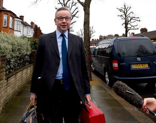 Michael Gove Departs His London Home