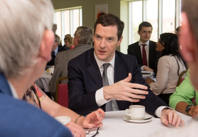 George Osborne Warns Of The Effects Of A Brexit On Pensions