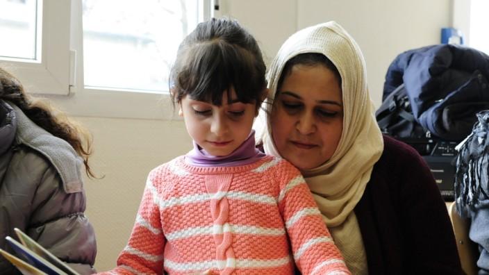 Flüchtlingsunterkunft: Erstes Zuhause: Derzeit ist die Bayernkaserne noch Erstaufnahmeeinrichtung für Flüchtlinge.