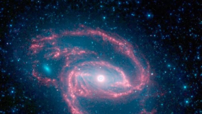 Auge im All - Spiralgalaxie fotografiert