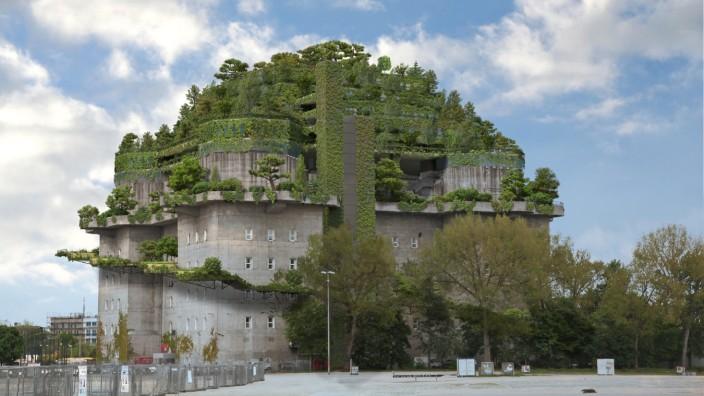 Stadtgarten auf dem Bunker