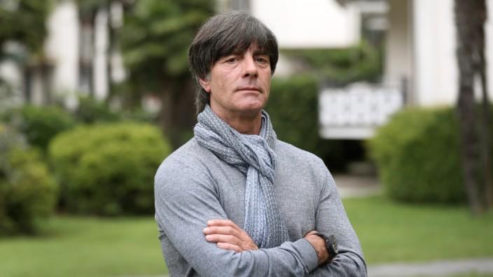 Trainingslager deutsche Nationalmannschaft - Löw