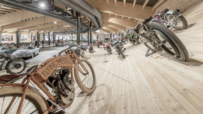 Top Mountain Motorcycle Museum in Österreich
