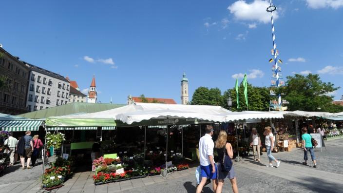 Viktualienmarkt Bewerbung für Weltkulturerbe