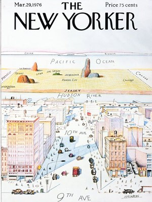 The New Yorker; Saul Steinberg