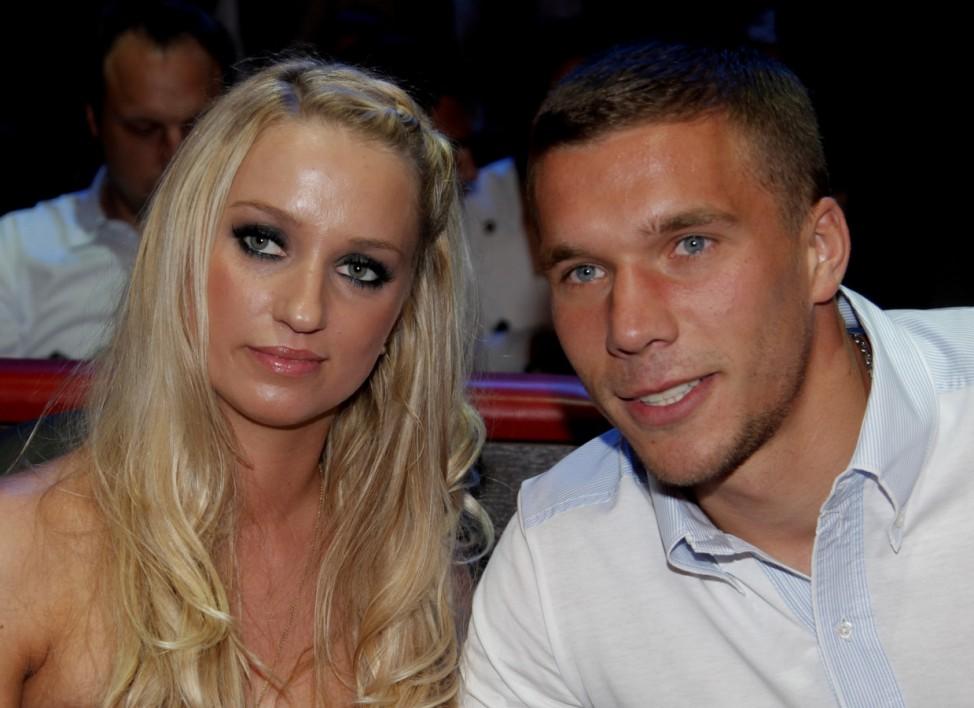 Monika Podolski und Lukas Podolski