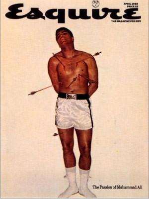 Cassius clay; Muhammed Ali; Esquire; Boxer