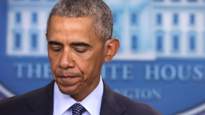 President Obama Makes Statement On Mass Shooting In Orlando At White House