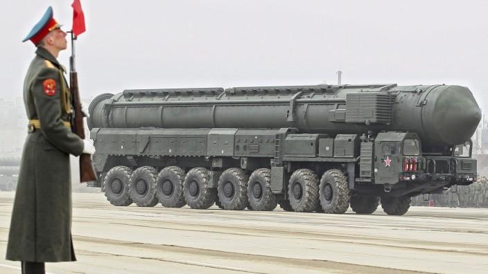 Atomwaffen werden weniger aber moderner