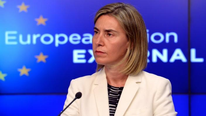 Handel mit Iran: Die EU-Außenbeauftragte Federica Mogherini.