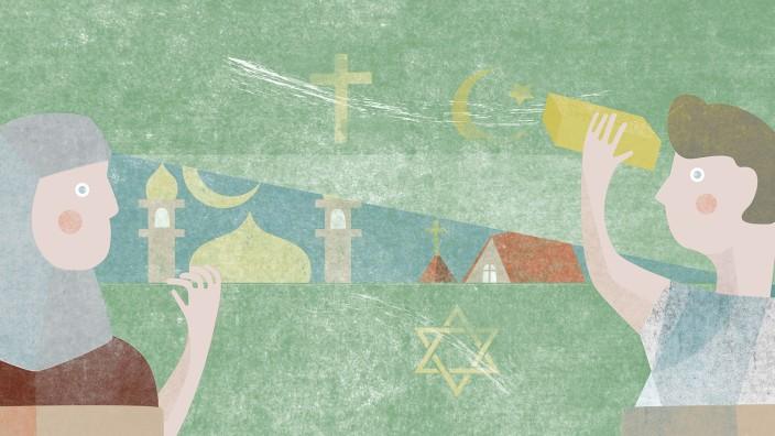 Religionsunterricht: Religion ist ein wichtiger Teil des Lehrstoffs an Schulen.