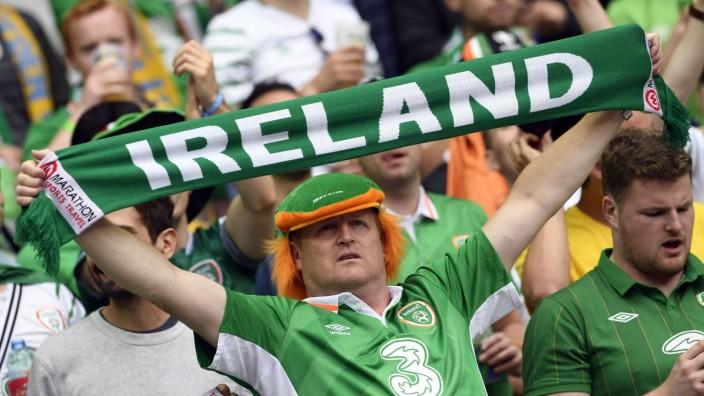 Fußball-EM: Zehn Punkte für die besten Fans der EM gehen an: Irland.