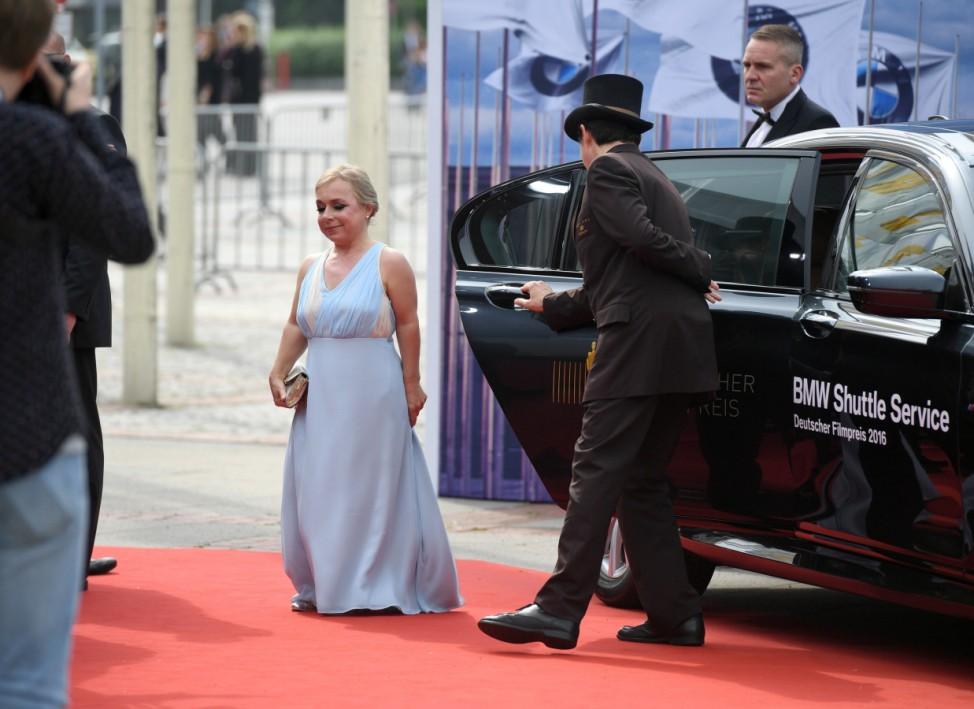 Deutscher Filmpreis - Ankunft