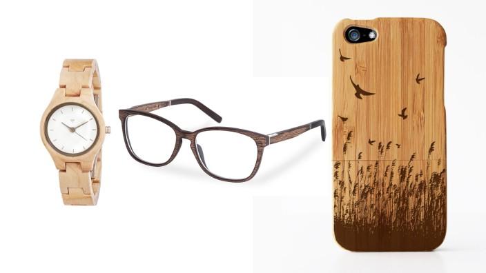 Accessoires aus Holz