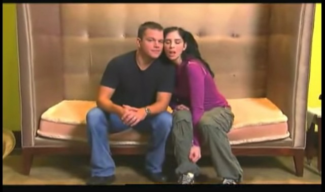 Sarah Silverman & Matt Damon