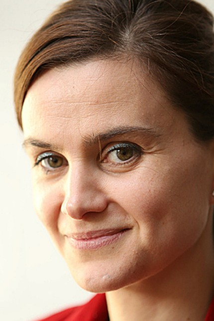 Batley and Spen MP Jo Cox is seen in an undated handout image