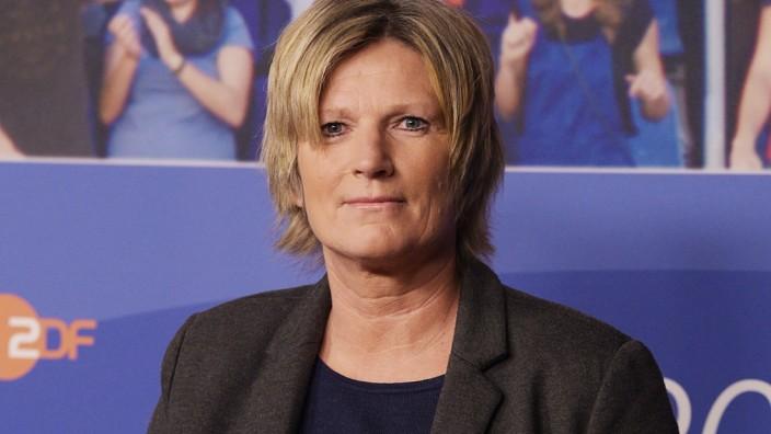Sportreporterin Claudia Neumann