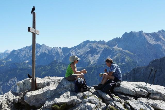 German Alps Draw Summer Tourists