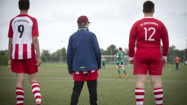 Gröbenzell:  Inklusions-Fußballturnier des 1.SC Gröbenzell